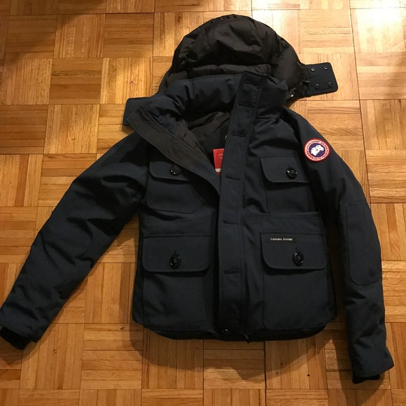 Canada Goose Selkirk Blue Mens Parka Jacket Size M NWT